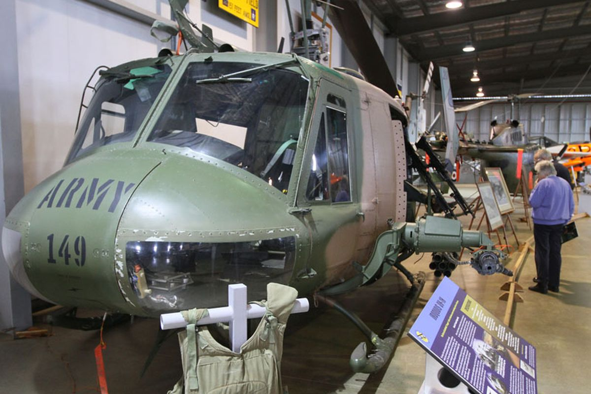 Regional Attraction - Australian Army Flying Museum, Oakey